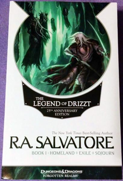 The Legend of Drizzt, 25th anniversary ed, book 1