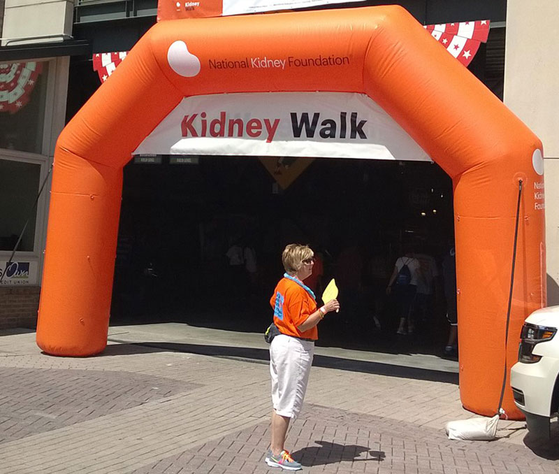 Entrance to Kidney Walk