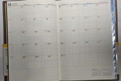 Nolty 6469 monthly spread